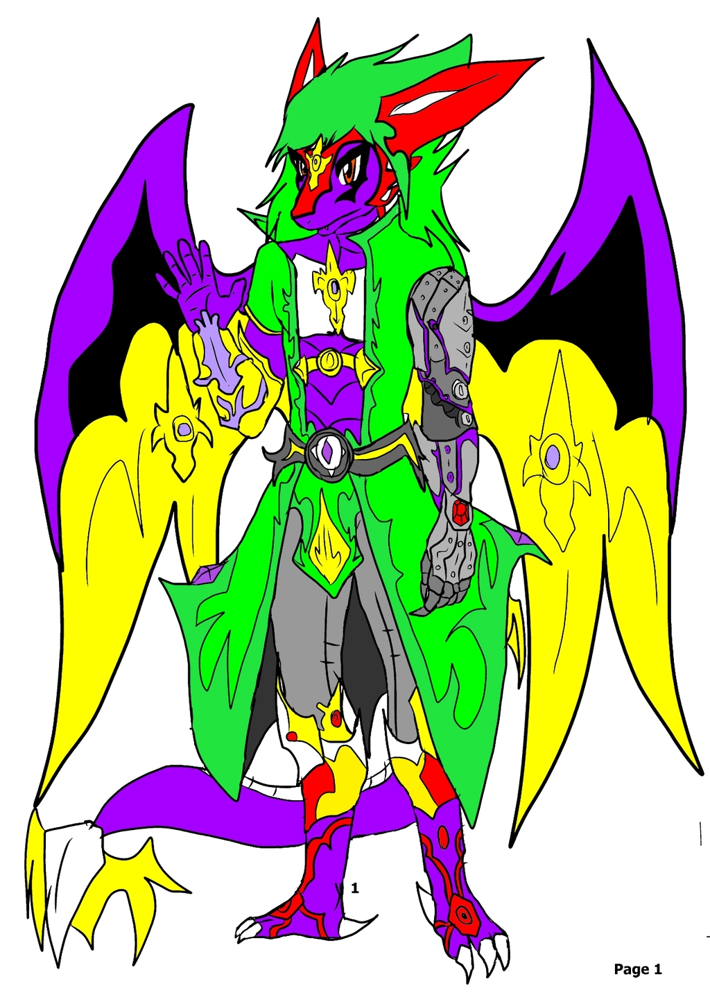 Most recent character: URIZA COLORED