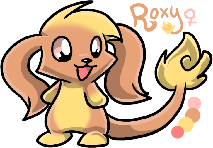 Most recent character: Roxy