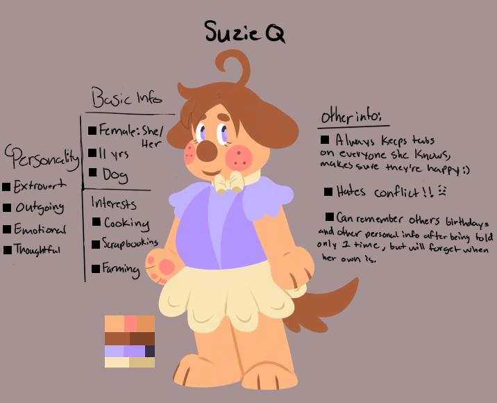 Suzie Q  — Weasyl