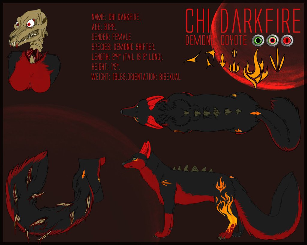 Most recent character: Chi Darkfire (feral - clean)