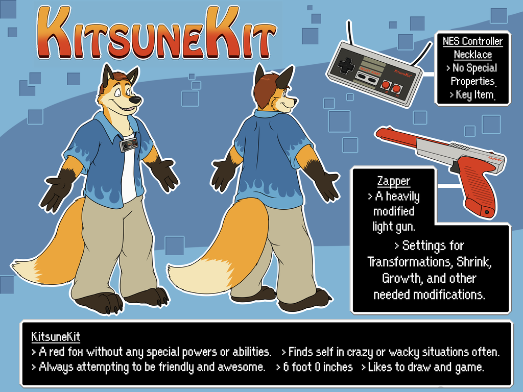 Most recent character: KitsuneKit