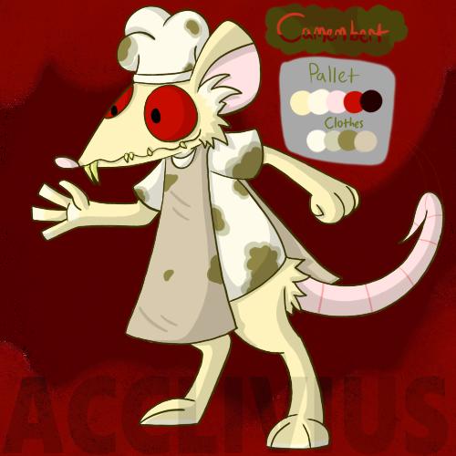 Most recent character: Camembert