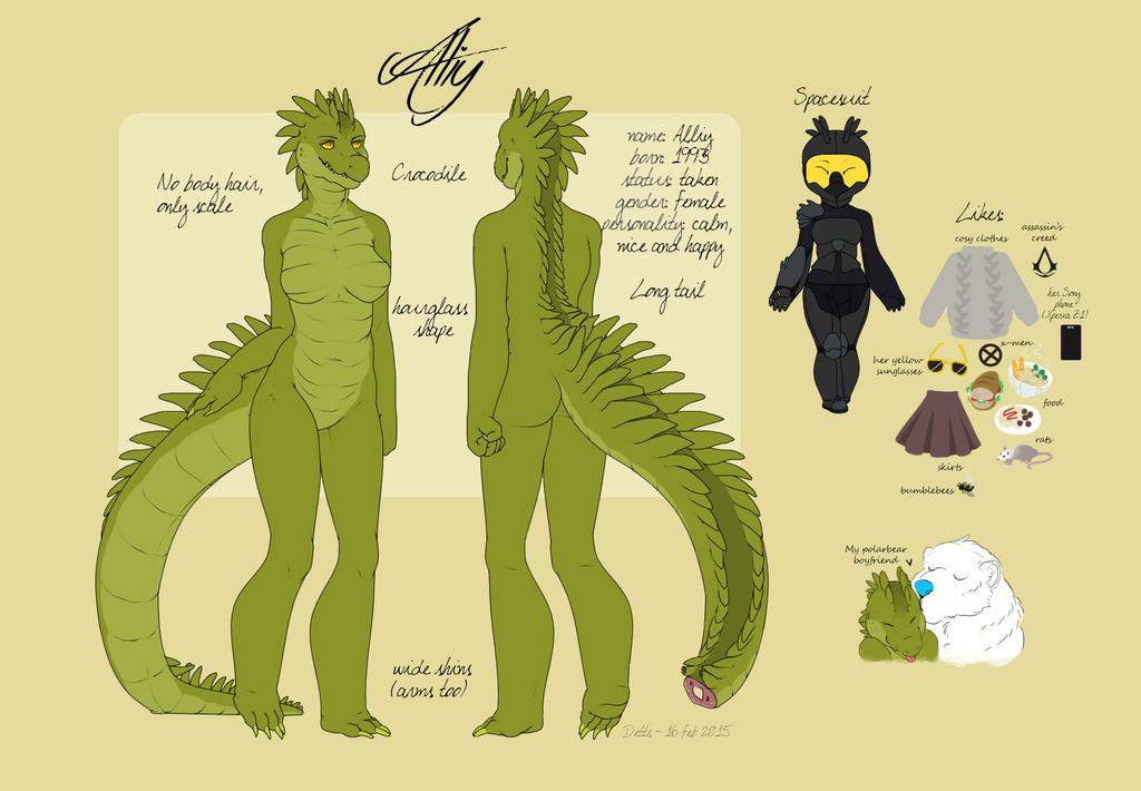 Most recent character: Alliy
