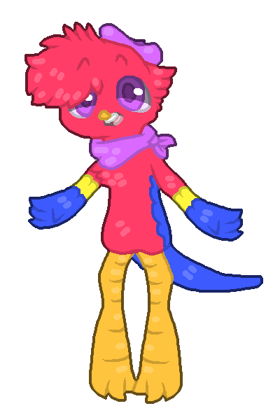 Most recent character: Crayons