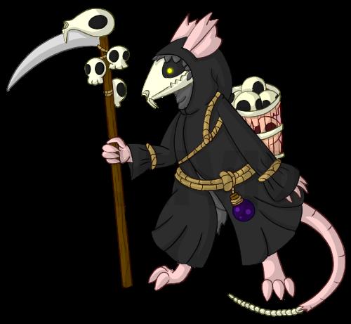Most recent character: Rattus Calvaria