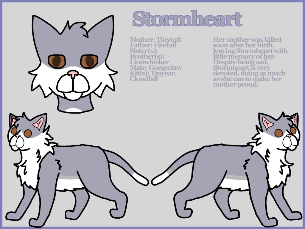 Most recent character: Stormheart