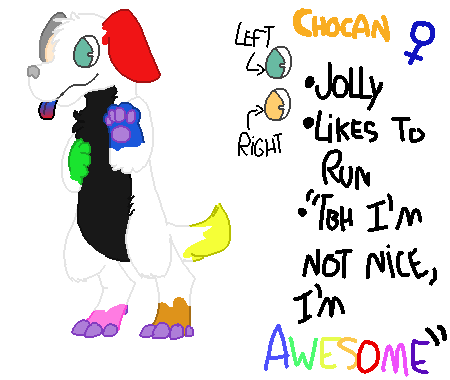 Most recent character: Chocan