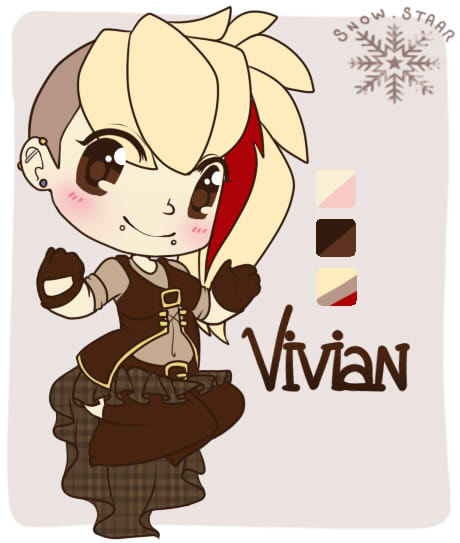Most recent character: Vivian