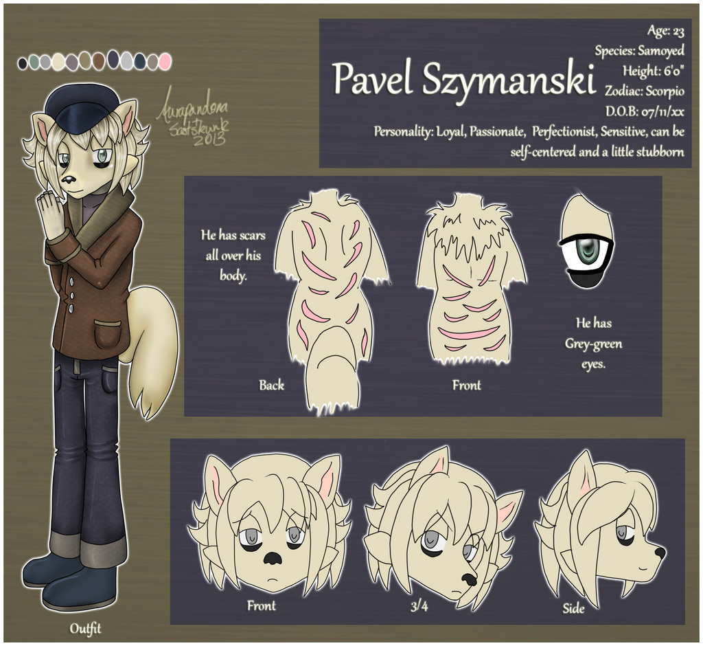 Most recent character: Pavel Szymanski