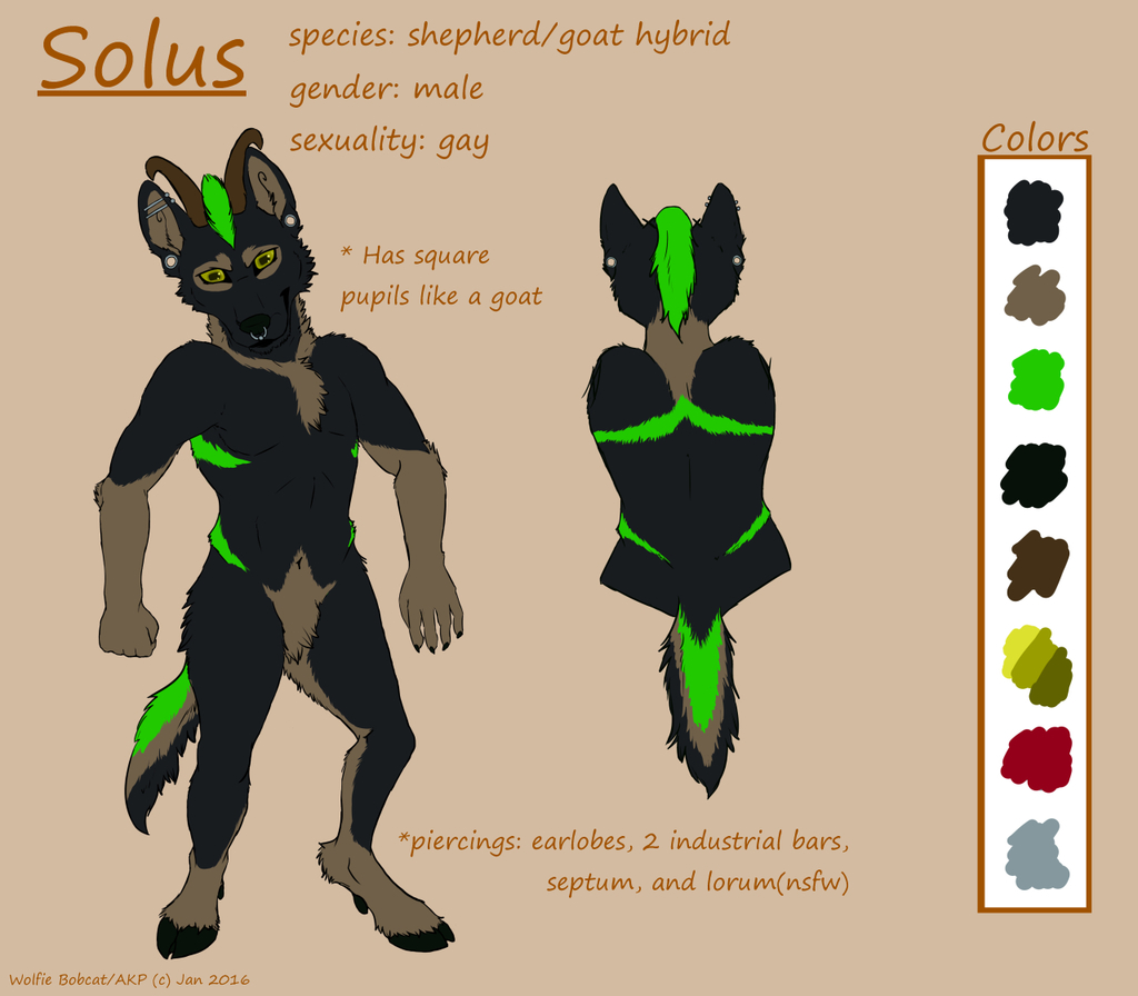 Most recent character: Solus