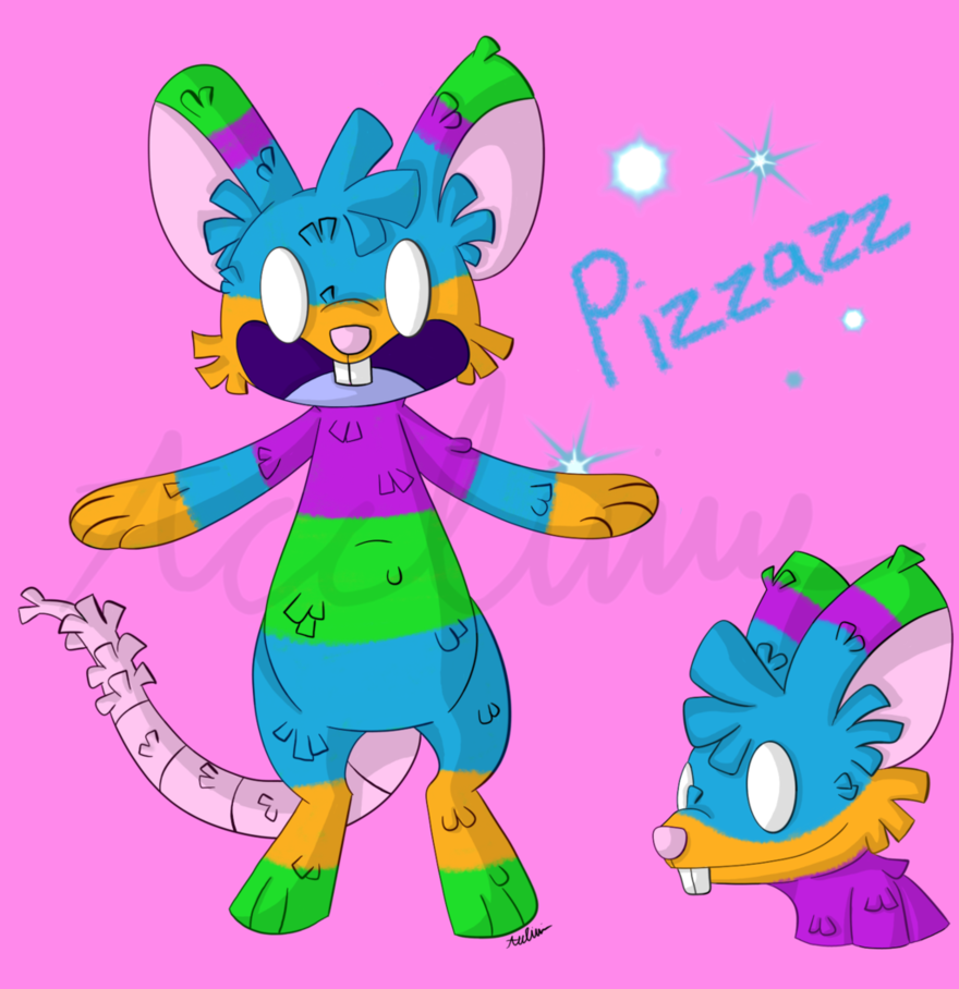 Most recent character: Pizzazz the Rat