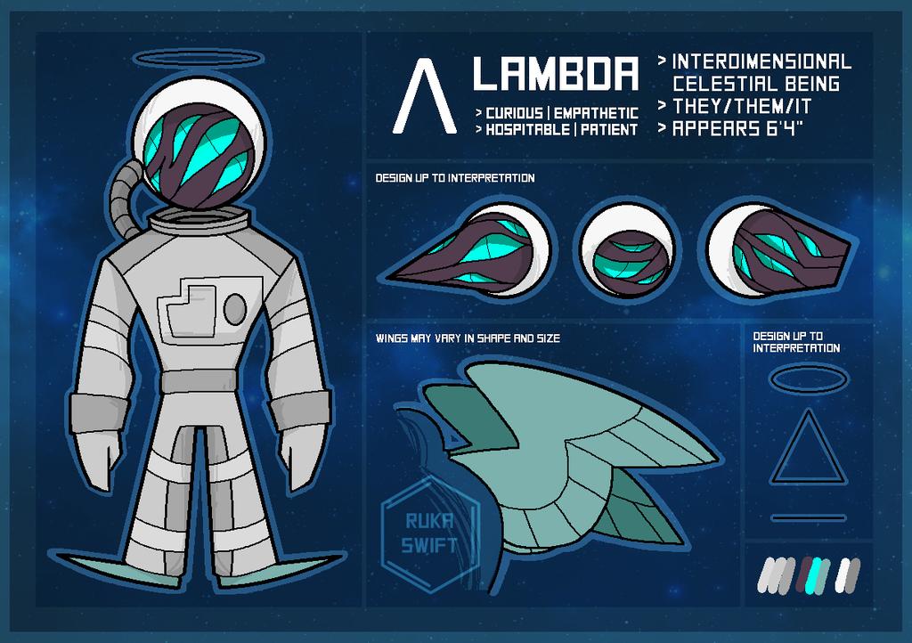 Most recent character: Lambda