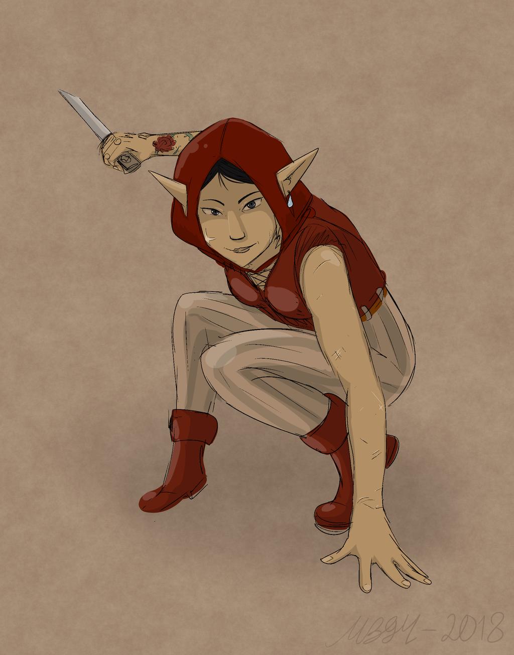 Most recent character: Hilprys Hilarius