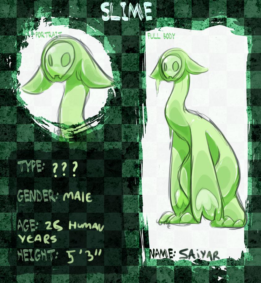 Most recent character: Saiyar