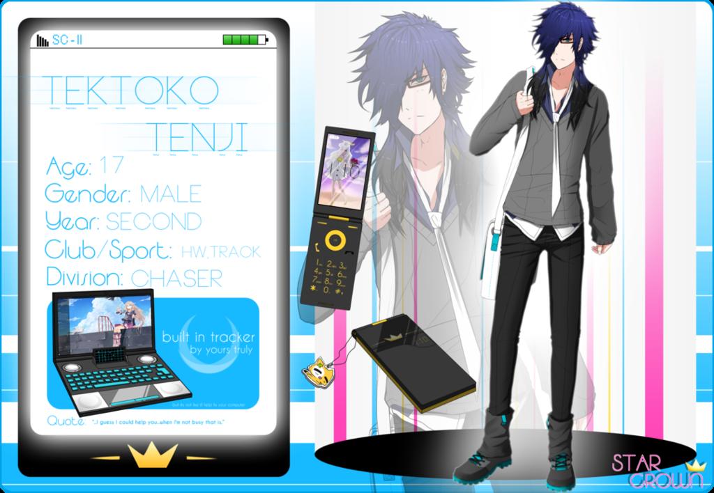 Most recent character: Tektoko, Tenji