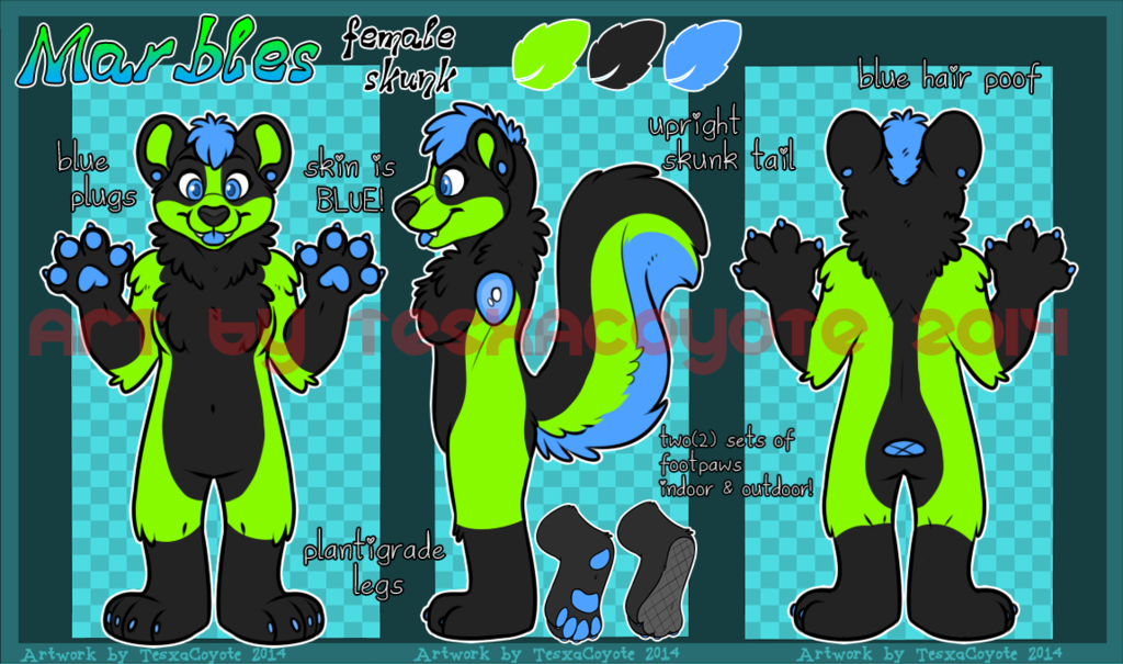 Most recent character: Marbles