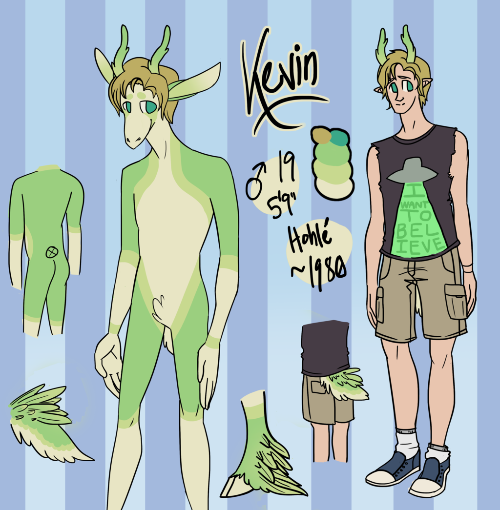 Most recent character: Kevin