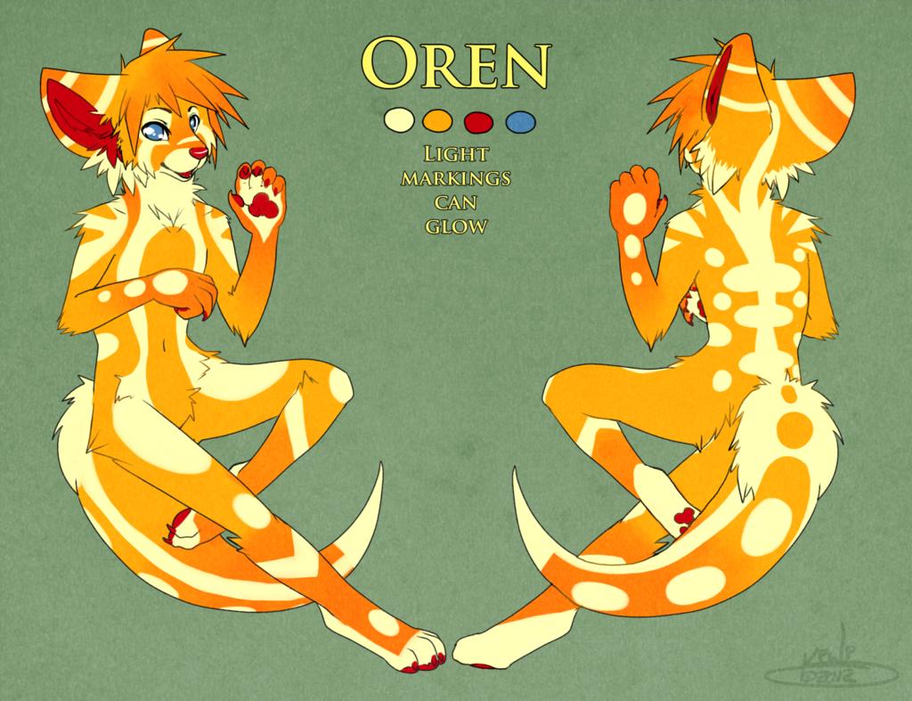 Most recent character: Oren