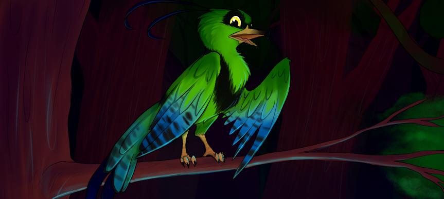 Most recent character: Nessa