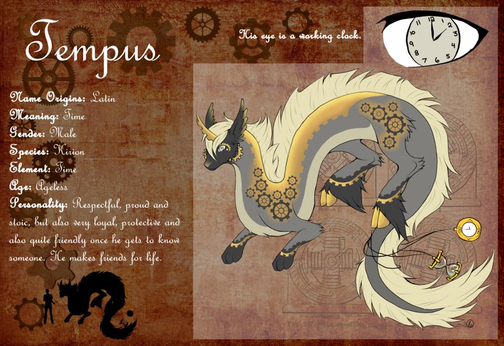 Most recent character: Tempus