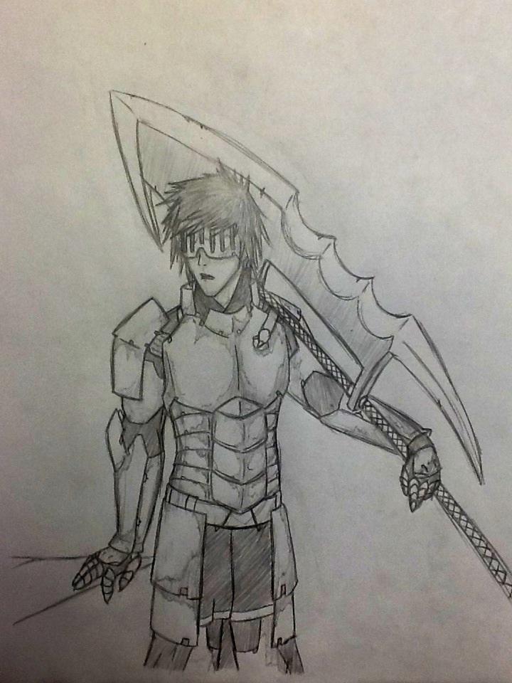 Most recent character: Christophe: Dark Paladin