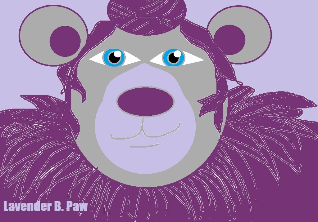 Most recent character: Lavender B. Paw