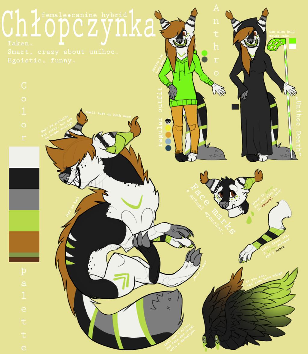 Most recent character: Chłopczynka