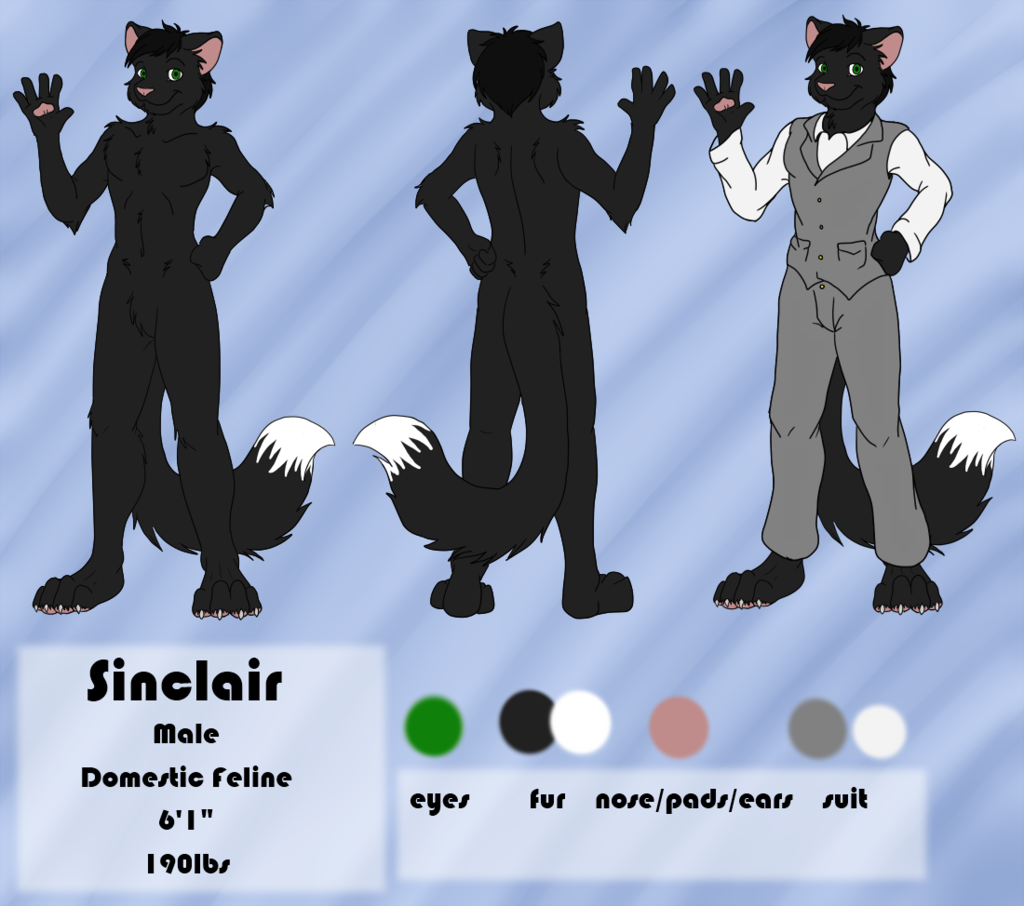 Most recent character: Sinclair