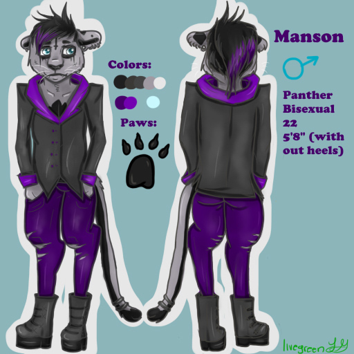 Most recent character: Manson