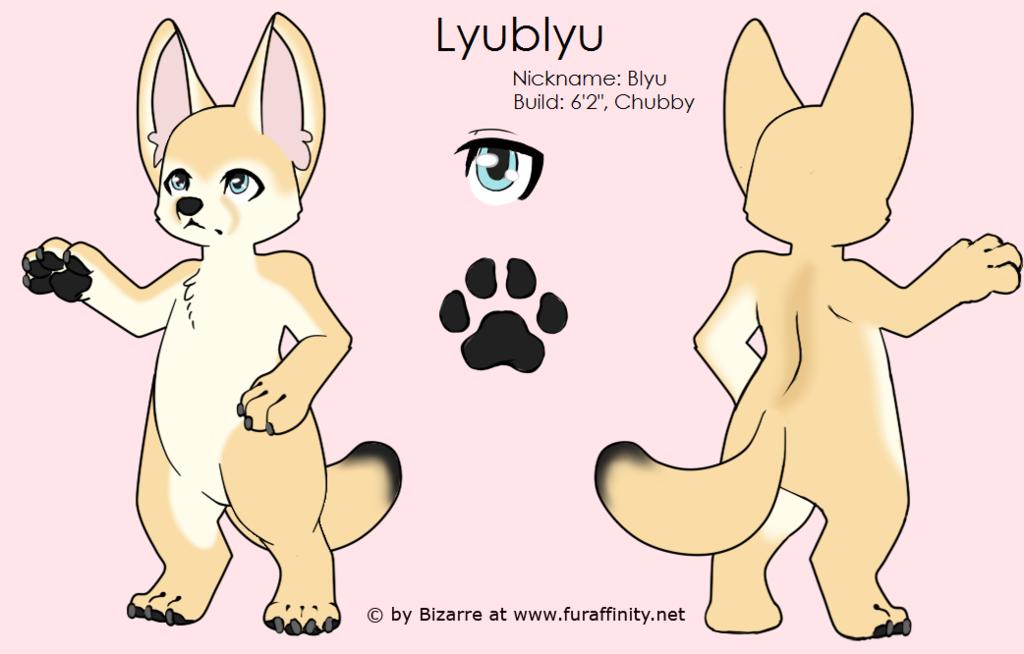 Most recent character: Lyublyu (Blyu)