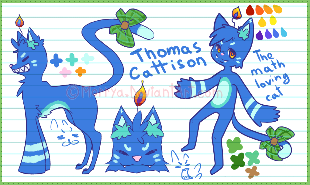 Most recent character: Thomas Cattison