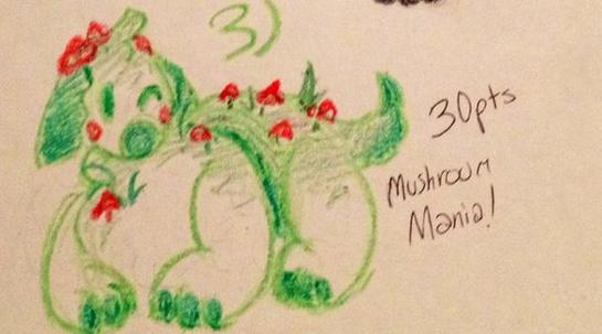 Most recent character: Mushroom Mania