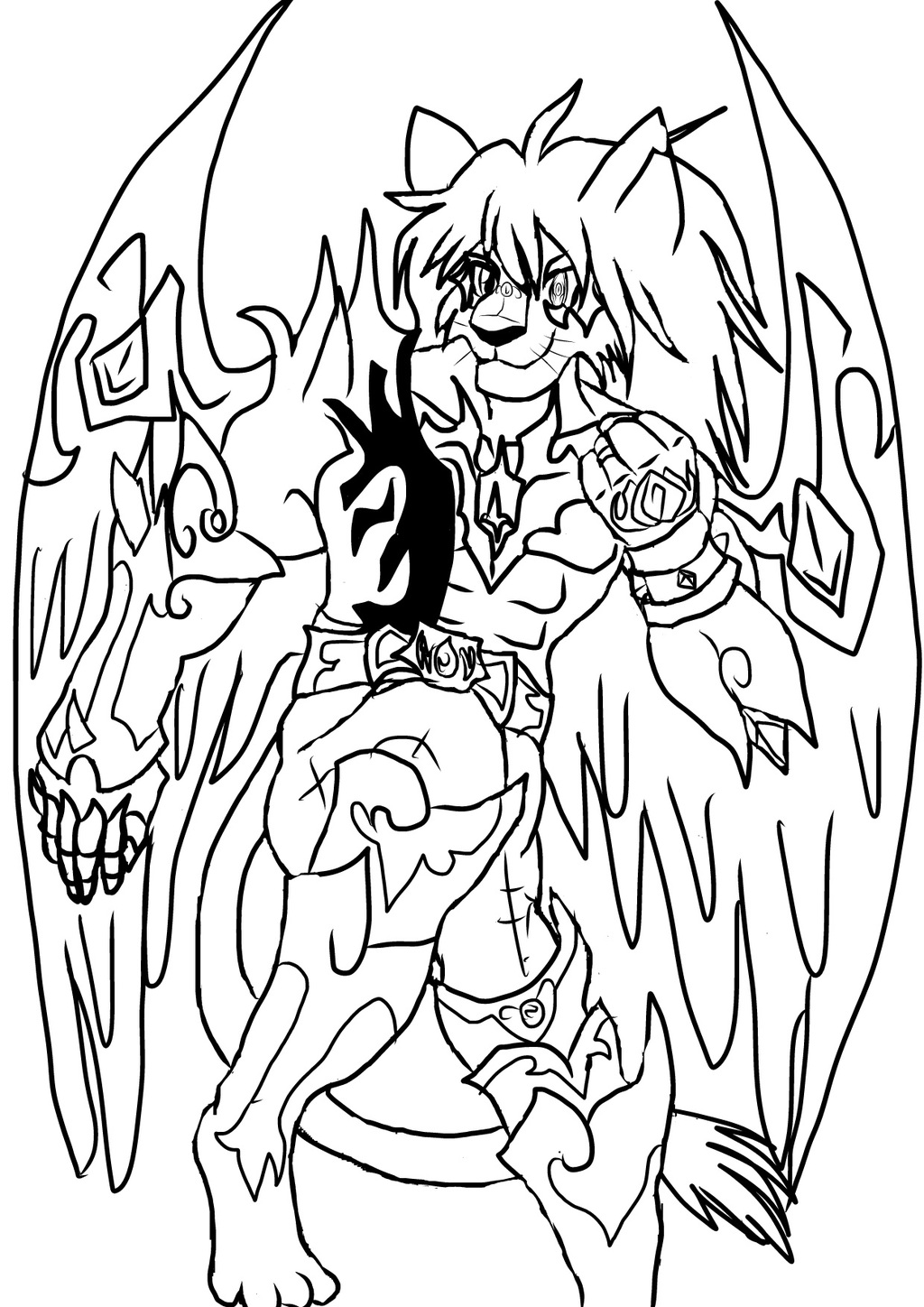Most recent character: ZAGURA, THE WINGED LION