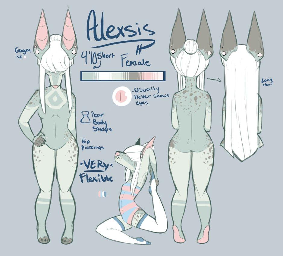 Most recent character: Alexsis
