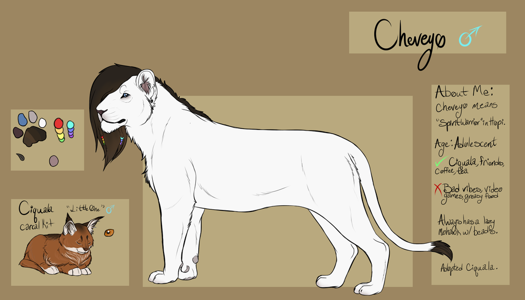 Most recent character: Cheveyo