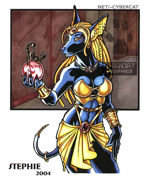 Zahara The Egyptian Were Weasyl