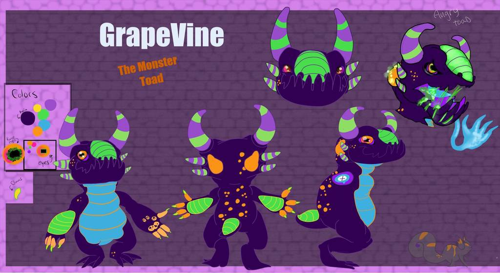 Most recent character: Grapevine