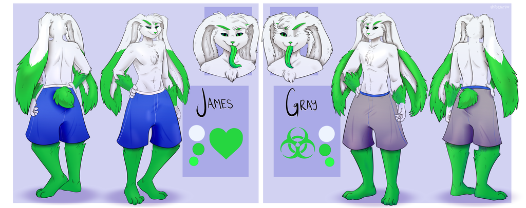 Most recent character: James and Gray Reference SFW