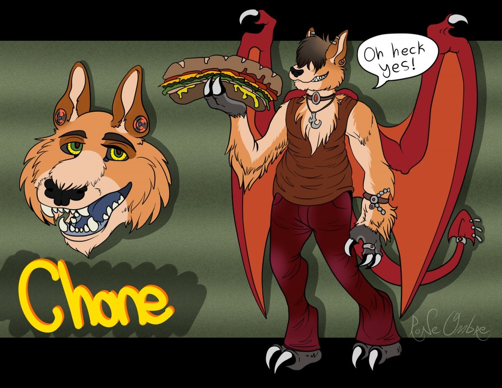 Most recent character: Chone Oodow