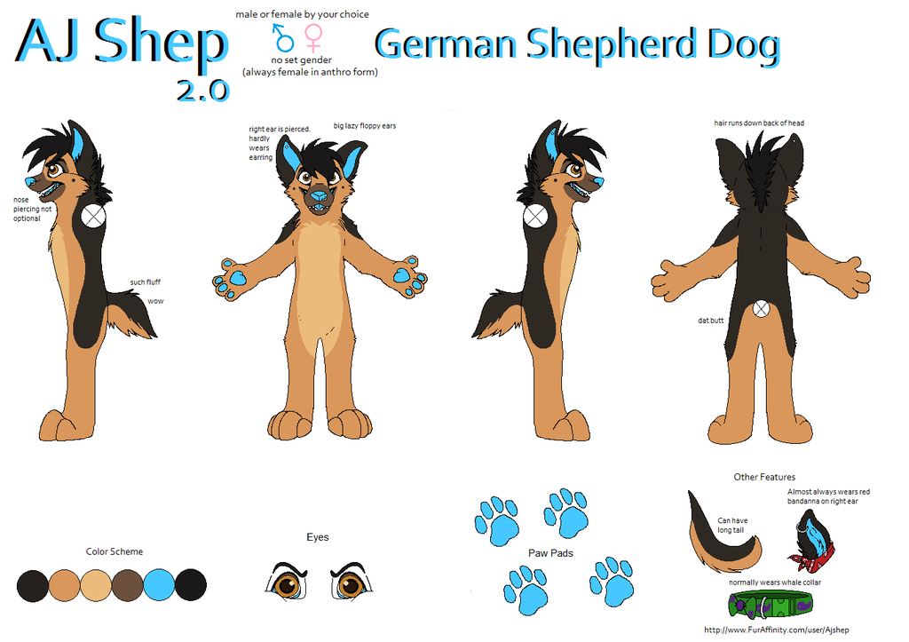 Most recent character: AJ Shep