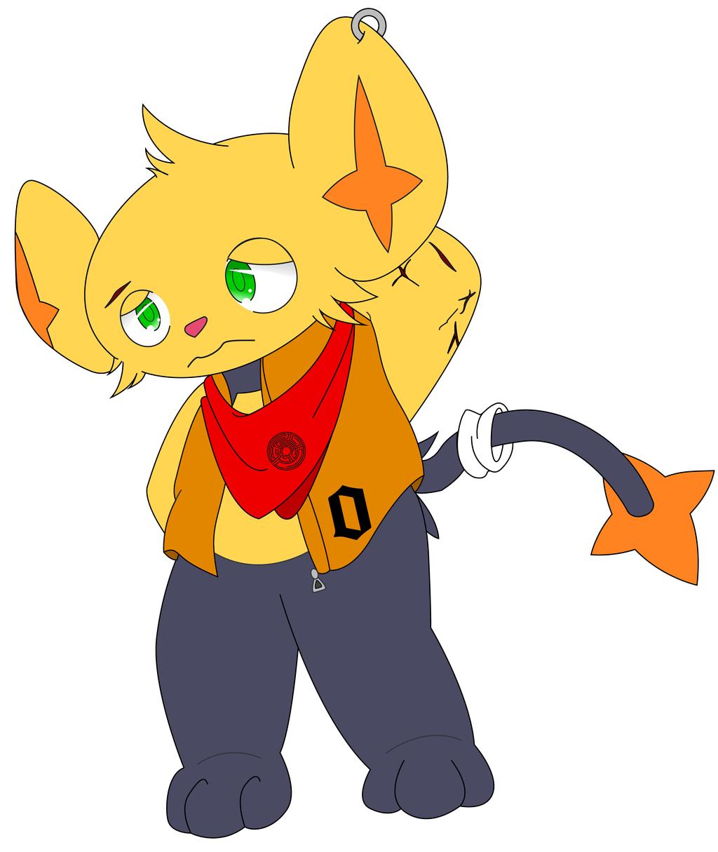 Most recent character: Maze (Shinx) Alternate version
