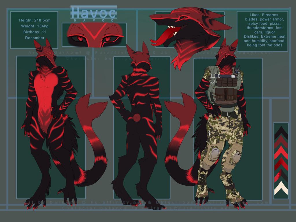 Most recent character: HAVOC