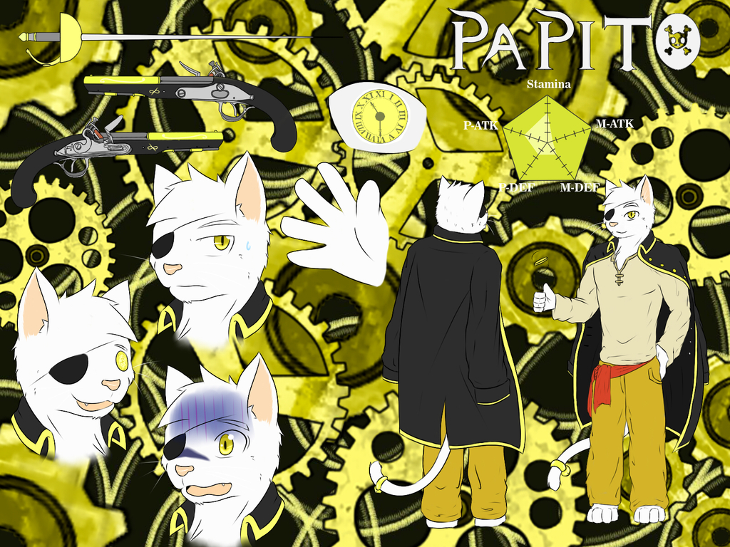Most recent character: Papito