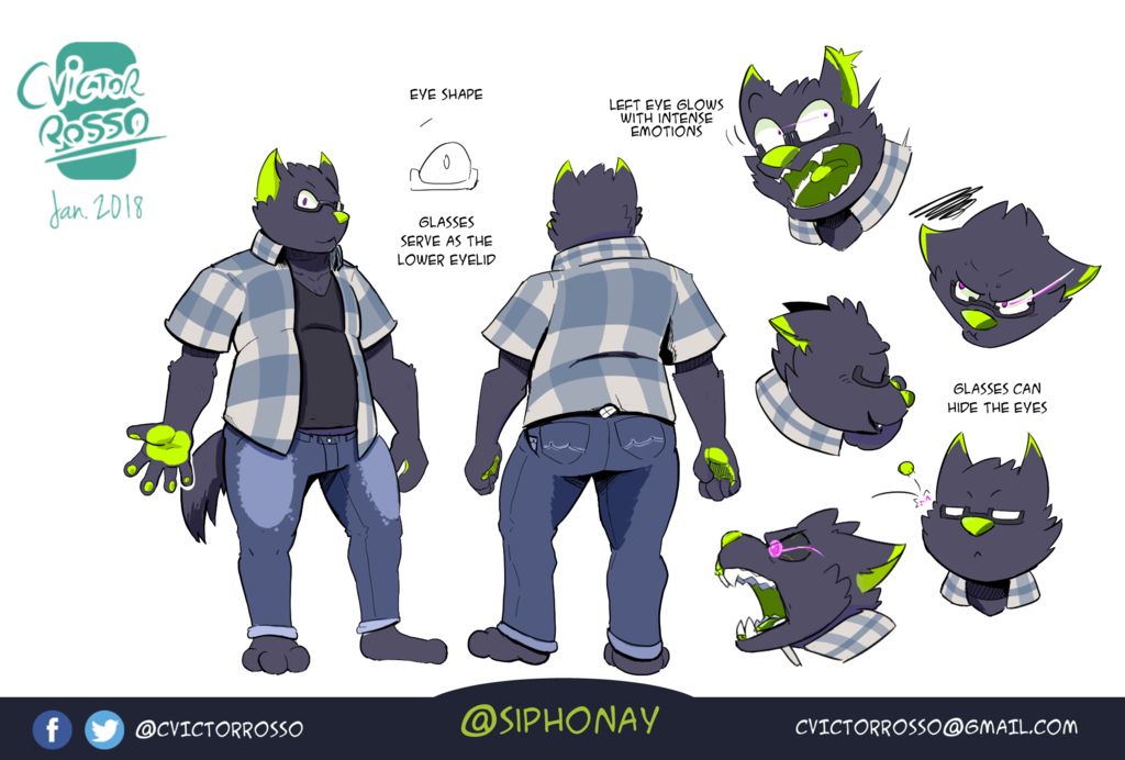 Most recent character: Siphonay