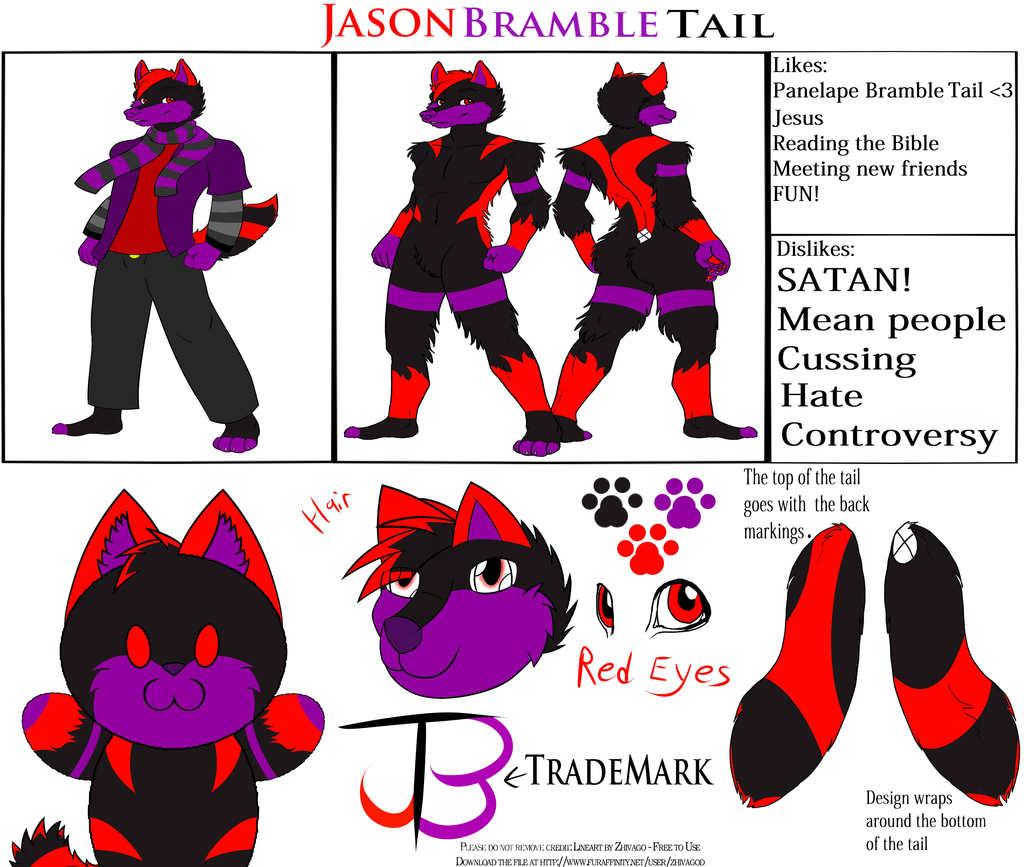 Most recent character: Jason Bramble Tail
