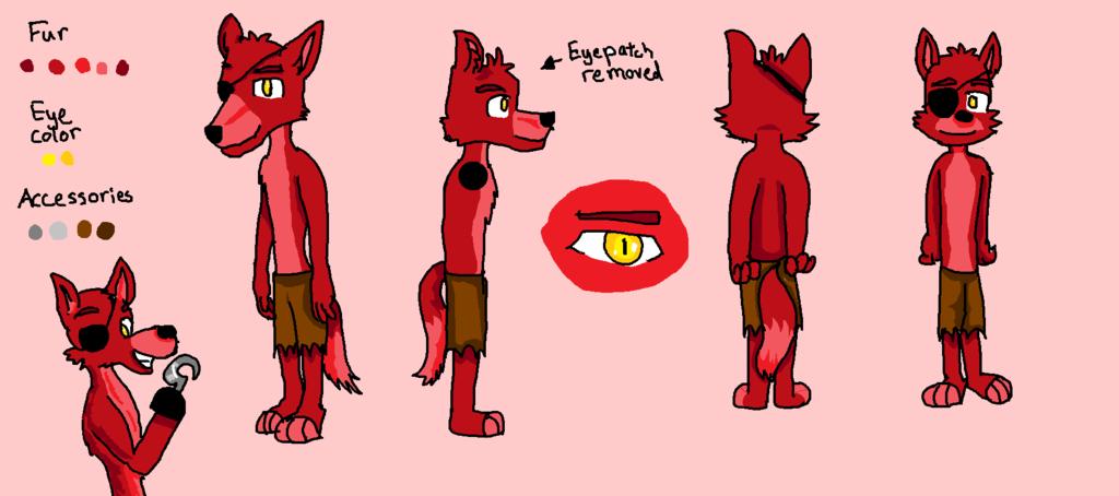 Foxy the pirate fox by foxypiratethefox
