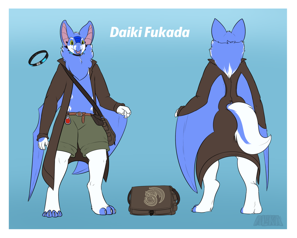 Most recent character: Daiki Fukada