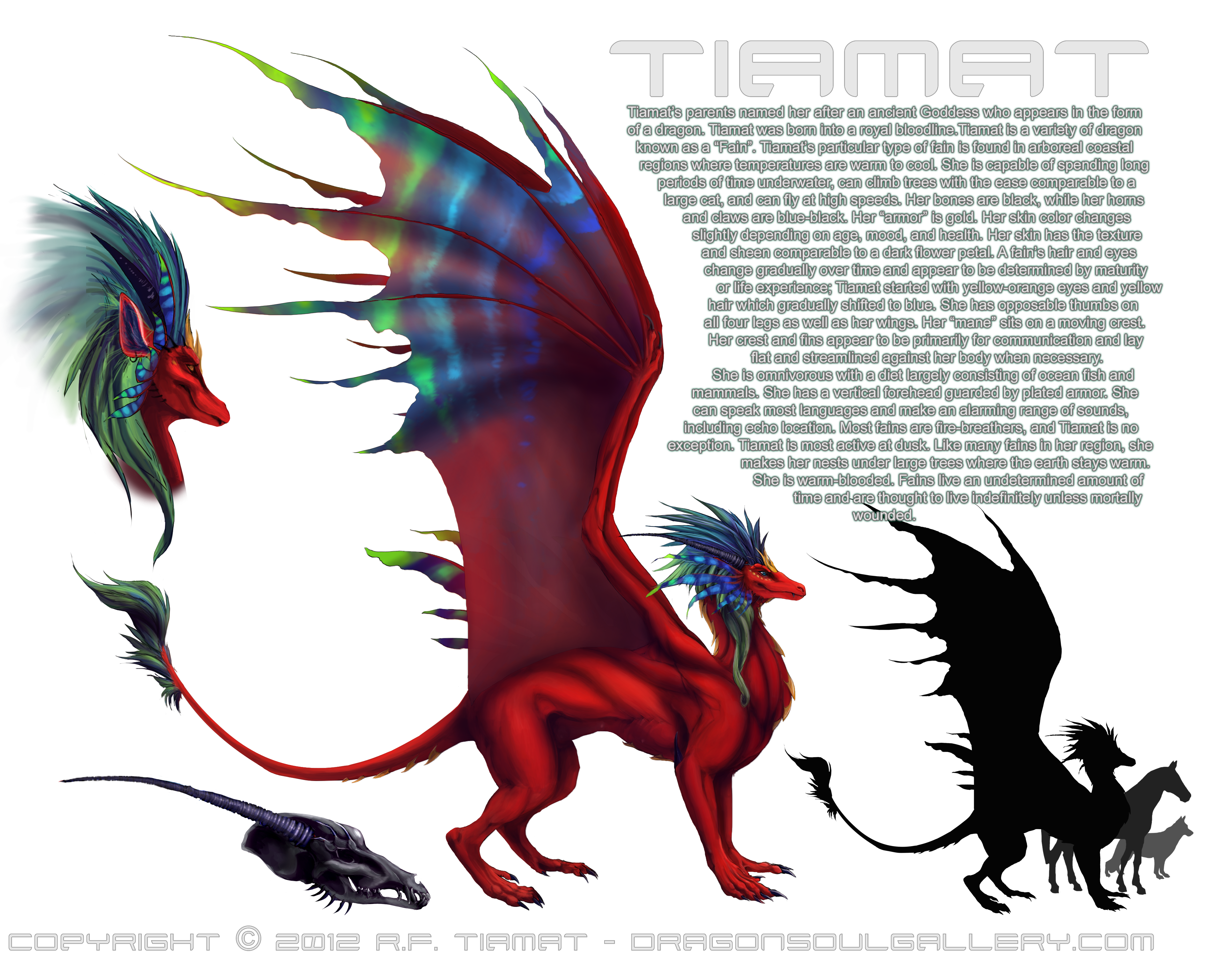 Tiamat — Weasyl
