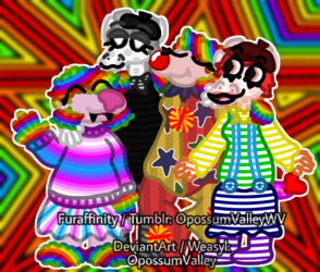 The Clowny-Adjacent Mischief Family