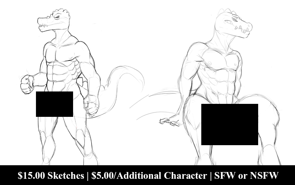 Featured image: April Sketch Commissions!